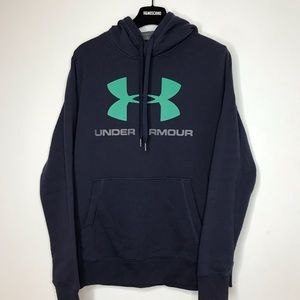 Under Armour Blue & Green Hoodie